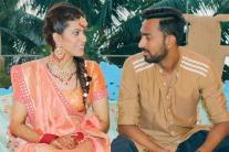 Hardik Pandya's Brother Krunal Pandya's Mehendi Function