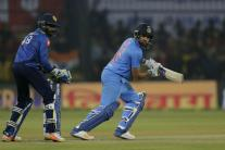 In Pics, India vs Sri Lanka, 2nd T20I at Indore