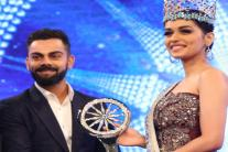 These Pics of Virat Kohli, Manushi Chillar Are Breaking the Internet