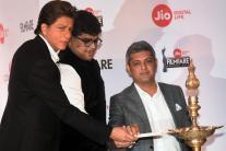 Shah Rukh Khan at Filmfare Awards 2018 Press Conference
