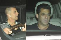 Akshay Kumar Watches Salman, Katrina's 'Tiger Zinda Hai'