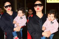 Taimur Ali Khan, Mom Kareena Kapoor Khan Back From Swiss Trip