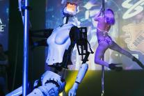 Pole Dancing Robots Strippers Spice Up CES 2018