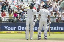 In Pics, South Africa vs India, First Test, Day 2 at Cape Town
