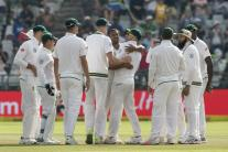 In Pics, South Africa vs India, First Test, Day 4 at Cape Town