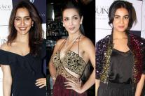 B-Town Divas at Rebecca Dewan's Fashion Collection Launch