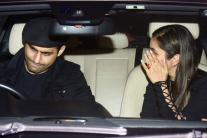 Bollywood Stars Party At Manish Malhotra's Residence