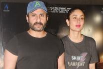 Kareena Kapoor Khan Watches 'Kaalakaandi' with Saif Ali Khan