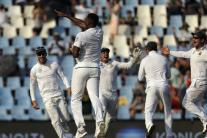 In Pics, South Africa vs India, Second Test, Day 2 at Centurion