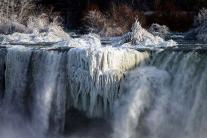 Record Shattering Cold in US: Niagara Falls Partly Freezes