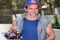 Hrithik Roshan Celebrates Birthday With Media; See Pictures
