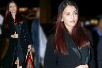 Aishwarya Rai Bachchan Stuns at the Airport in All-Black Attire
