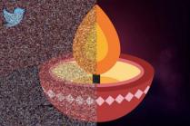 Did you tweet with #HappDiwali? Find yourself in Twitter's after-Diwali diya mosaic