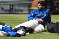 Misbah-ul-Haq Disappointed at West Indian Downfall