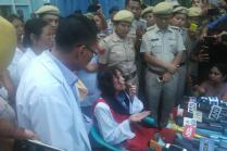 Irom Sharmila Meets Kejriwal, Seeks Advice on Fighting Manipur Polls