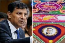RBI Staff's Rangoli Tribute To Raghuram Rajan Is Perfect