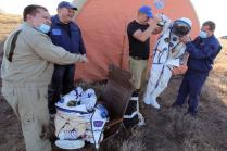 3 ISS Crew Members Return Earth After Six-Month Trek in Orbit