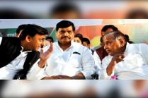 SP Meet Turns into Family Drama, Akhilesh & Shivpal Spar In Public