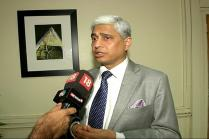 Talk and Terror Can't Go Together: MEA