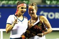 Sania Mirza-Barbora Strycova Win Pan Pacific Women's Doubles Title