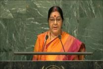 Sushma Swaraj at UNGA: Kashmir Integral Part of India, Pakistan Hits Back