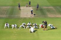 Pakistan Cricket Board Bars Push-Ups on Field After Match Wins
