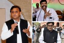 Samajwadi Party Truce: Akhilesh Yadav to Reinstate Shivpal, 3 Ministers
