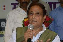 Azam Khan Blames 'One Single Outsider' For SP Feud