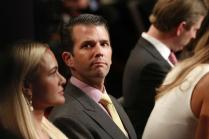 Running for President is a 'Step Down' For My Dad: Trump Junior