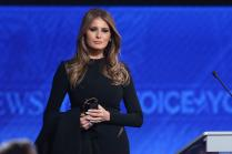 Trump's Remarks on Women Unacceptable, Offensive, says Melania Trump