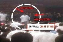 Watch: Akhilesh vs Shivpal Figth Over Amar Singh