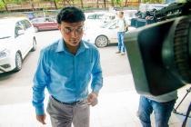 Sourav Ganguly Gets Stuck in a Lift at Eden Gardens