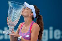 Agnieszka Radwanska Tunes up for US Open With Connecticut Victory