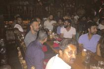Team India Bond over Dinner in Florida