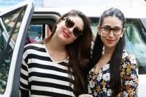 Karisma, Kareena Kapoor Khan Step Out In Style