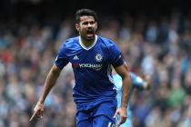 Aguero, Fernandinho Get Red Cards As Chelsea Thump Man City to Stay Atop