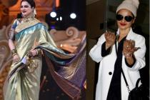 Rekha Is Ditching Kanjivaram Saris For Something Strange These Days