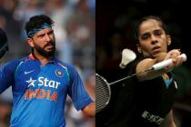 Saina Nehwal And Yuvraj Singh's Twitter Chat Is All About Mutual Admiration