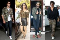 Shah Rukh, Ranbir, Ranveer And Other Stars Flaunt Camouflage In Style