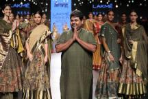 LFW 2017: Of Gaurang Shah's Nine-yard Canvas and Indian Weaves