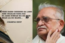 Happy Birthday Gulzar: 20 Verses That Prove There's No One Quite Like The Legendary Writer