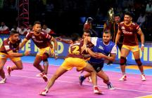 Pro Kabaddi 2017: Haryana Steelers Edge UP Yoddha 36-29 With Final Flourish