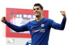 Alvaro Morata Nets Hat-trick as Chelsea Crush Stoke City