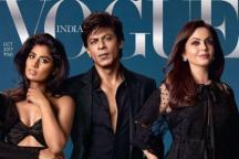 Mithali Raj Graces Vogue Cover With Shah Rukh Khan, Nita Ambani
