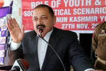 No Question of Speaking to Those in Kashmir Who Indulge In Violence: Jitendra Singh