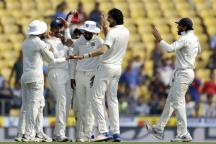 Live Cricket Score, India vs Sri Lanka 2017, 2nd Test in Nagpur: Hosts Bowlers Put in Lion-hearted Effort