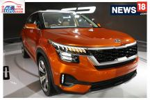 Auto Expo 2018: First Look of KIA SP Concept at Auto Expo
