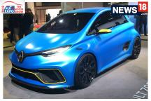 Auto Expo 2018: First Look of Renault Zoe E-Sport Concept at Auto Expo