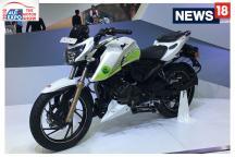 Auto Expo 2018: TVS Apache 200 Ethanol FI First Look