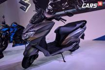 Suzuki Burgman Street 125 First Look Video at Auto Expo 2018